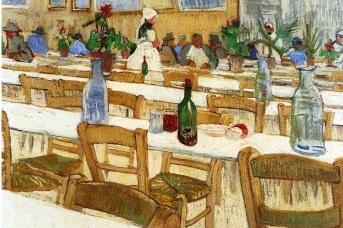 В ресторане.1887