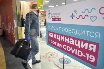Вакцинация от коронавируса. Москва