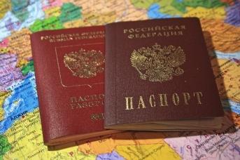 Внутренний и заграничный паспорта РФ
