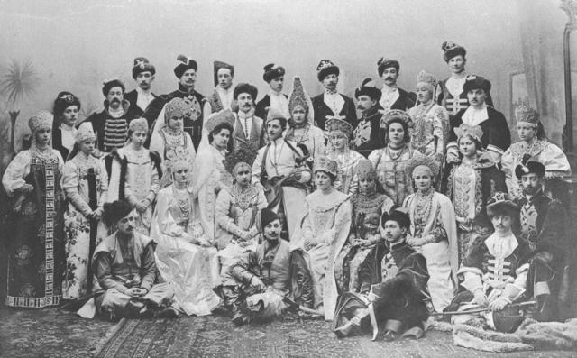 Костюмированный бал 1903 года в Зимнем дворце