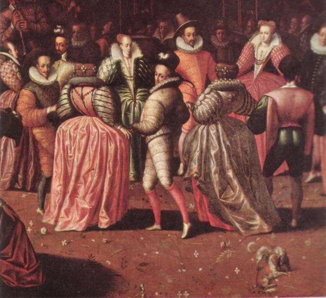 Бал при дворе Генриха III