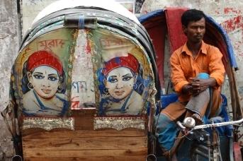Водитель рикши. Adam Jones