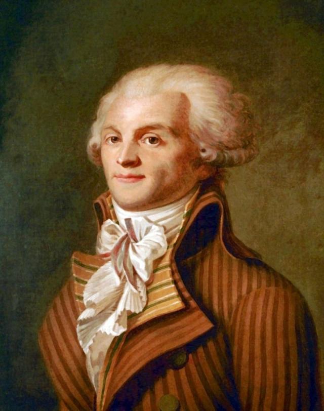 Портрет Максимилиана Робеспьера. 1790