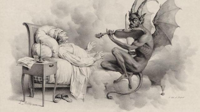 Луи-Леополд Буали. Сънят на Тартини. 1824