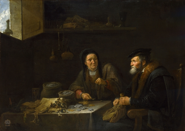 Давид Тенирс II. Алчность. ок 1648