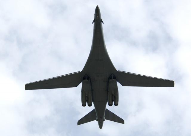 Стратегический бомбардировщик B-1 ВВС США. U.S. Air Force