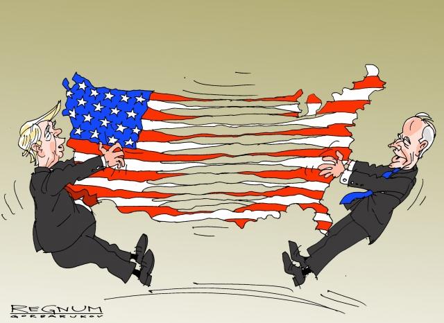 Дональд Трамп и Джозеф Байден. Александр Горбаруков © ИА REGNUM