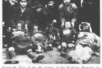 Кишинёвский погром. 1903