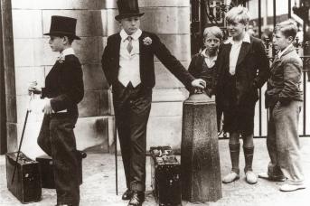 Классовое разделение Британии. 1937