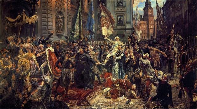 Ян Матейко. Конституция 3 мая 1791