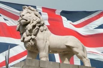 Британский флаг. Jonund