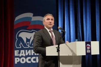 Губернатор Тюменской области Александр Моор на встрече участников предварительного голосования «Единой России»
