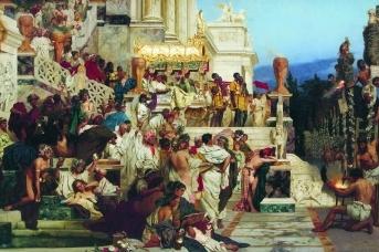Генрих Семирадский. Светочи христианства (Факелы Нерона). 1882