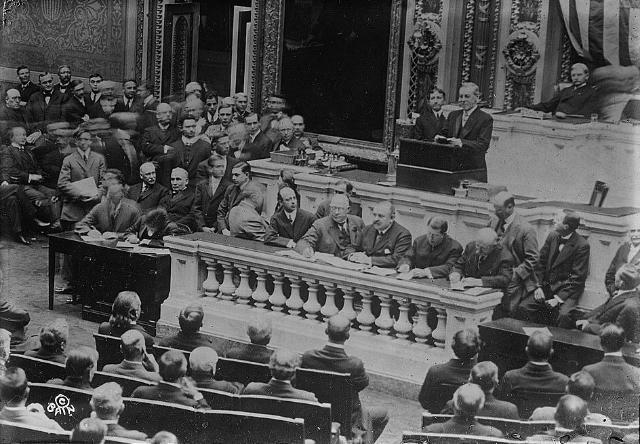 Основание ФРС США. 1913