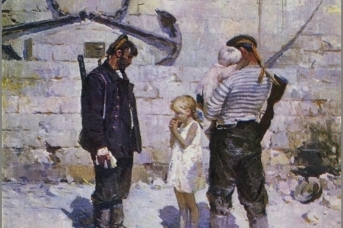 Сулименко Петр Степанович (1914-1996) «Незабываемые дни. 9 мая 1944 года Севастополь» 1955