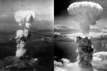 Американская бомбардировка Хиросимы и Нагасаки. 1945