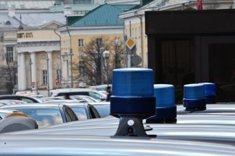Автомобили чиновников. Иван Лазебный © ИА Красная Весна