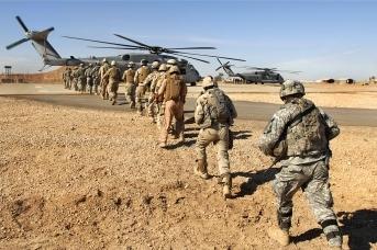 Американские войска готовятся к переброске