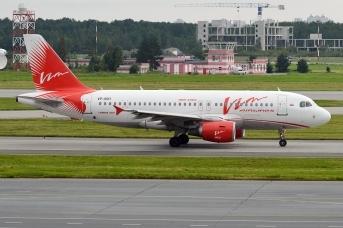 Самолет авиакомпании «ВИМ-Авиа»