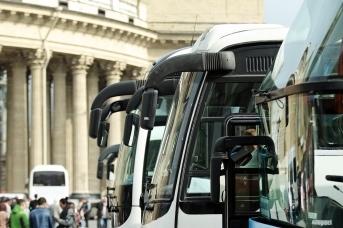 Туристические автобусы в Петербурге