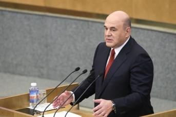 Председатель Правительства РФ Михаил Мишустин рассказывает о результатах деятельности кабмина за 2020 год