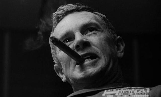 Решительный генерал. Цитата из к/ф «Доктор Стрейнджлав, или Как я перестал бояться и полюбил бомбу». реж Стэнли Кубрик. 1964. США
