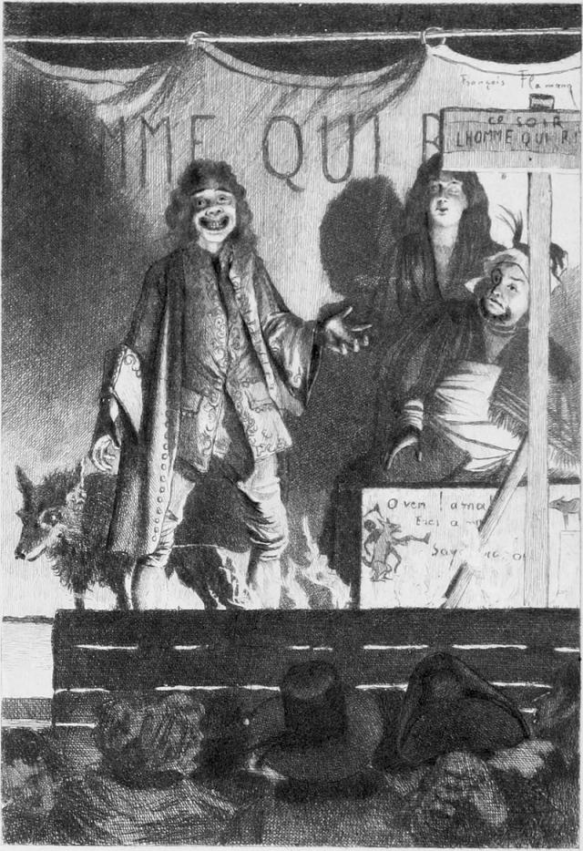 Человек, который смеется (Обложка), Франсуа Фламенг
