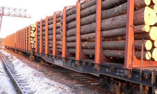 Погрузка лесных грузов