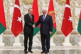 Эрдоган и Лукашенко. Фото: сайт президента Белоруссии
