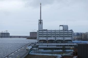Морской вокзал в Петербурге