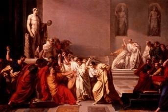 Винченцо Камуччини. Смерть Цезаря, 1804