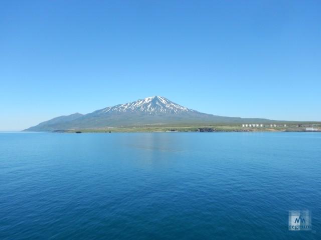 Вулкан Баранского. О.Итуруп.