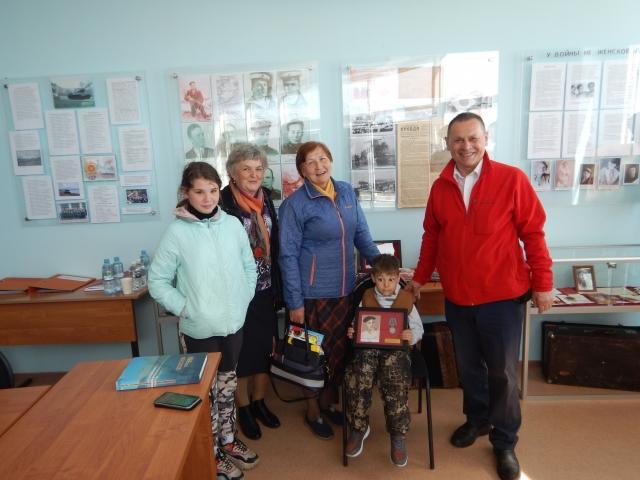 Встреча в музее Курильска с детьми и внуками участников Курильской десантной операции