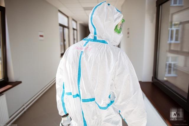Борьба с коронавирусом. Павел Соболев © ИА REGNUM