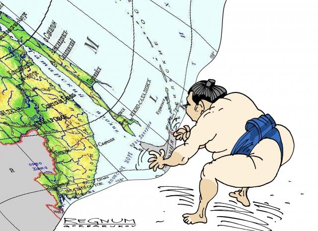 Территориториальные претензии Японии. Александр Горбаруков © ИА REGNUM