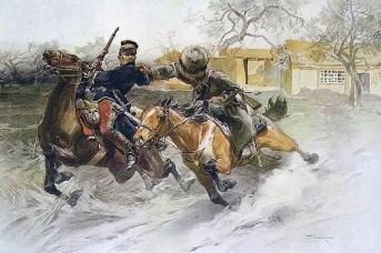 Николай Самокиш. Погоня. Русско-японская война 1904-1905 гг.
