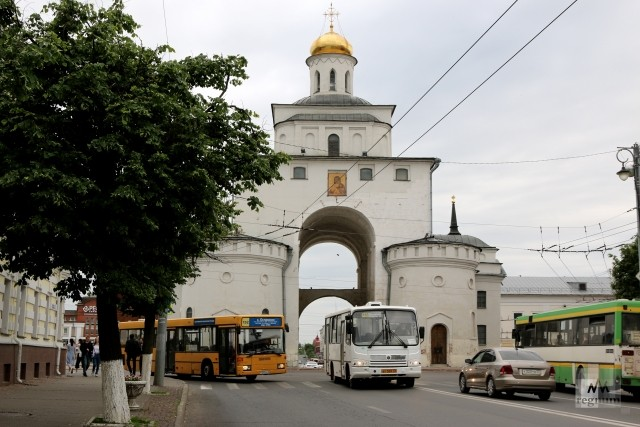 Золотые ворота в городе Владимир