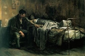 Кристобаль Рохас. Бедность. 1886 год,