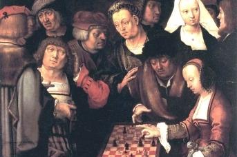 Ван Лейден Игра в шахматы, около 1508