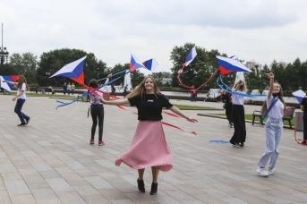 Парк Победы на Поклонной горе. День России в Москве