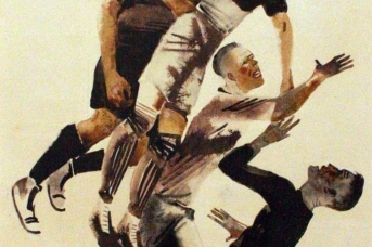 Дейнека А.А. Футбол. 1928