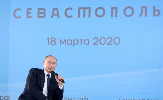 Владимир Путин в Севастополе
