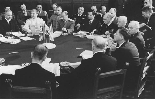 Советская делегация на Потсдамской конференции