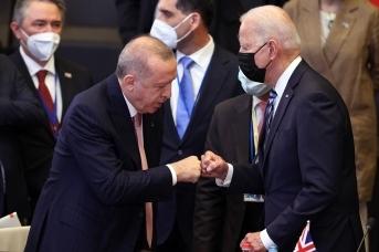 Реджеп Тайип Эрдоган и Джозеф Байден. Tccb.gov.tr