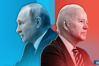 Владимир Путин и Джо Байден. Иван Шилов © ИА REGNUM
