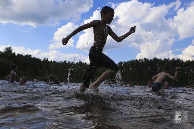 Черное озеро. Зеленоград. Москва