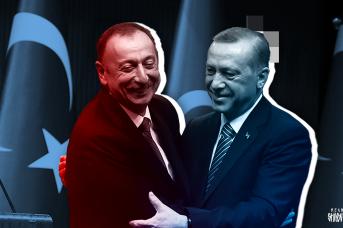 Президент Турции Реджеп Тайип Эрдоган и президент Азербайджана Ильхам Алиев