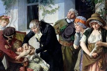 Мелинг Гастон. Эдвард Дженнер впервые делает прививку против оспы крестьянскому мальчику