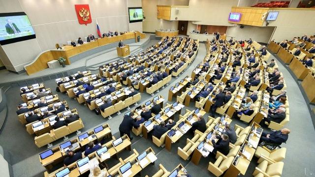На заседании Государственной Думы