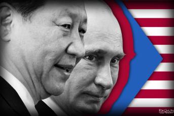 Владимир Путин и Си Цзиньпин , Иван Шилов © ИА REGNUM